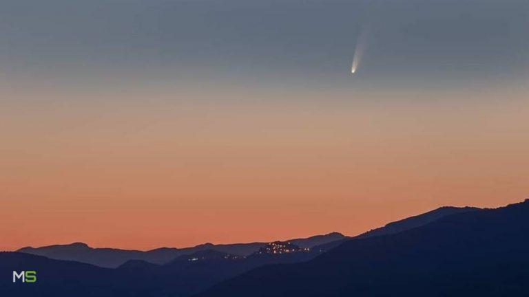 El cometa más brillante en 7 años, es visible ahora