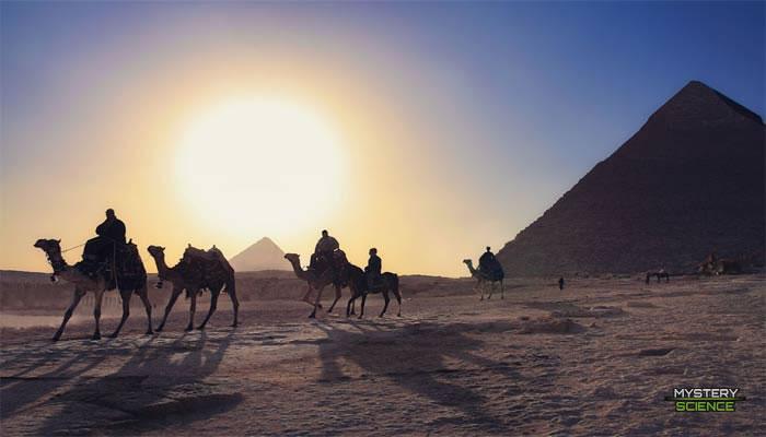 Energía solar en el antiguo Egipto