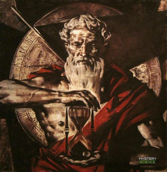 Cronos o Saturno, titán del tiempo