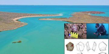 Hallan un antiguo sitio arqueológico aborigen conservado en el fondo del mar