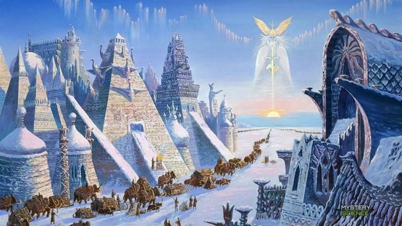 Hiperbórea antiguo hogar de dioses y gigantes