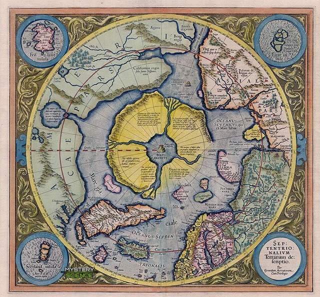 Hiperbórea mapa