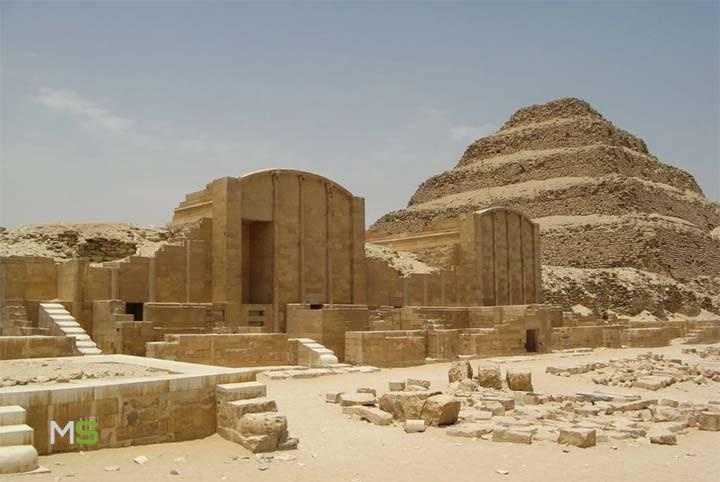 Primera pirámide de Egipto