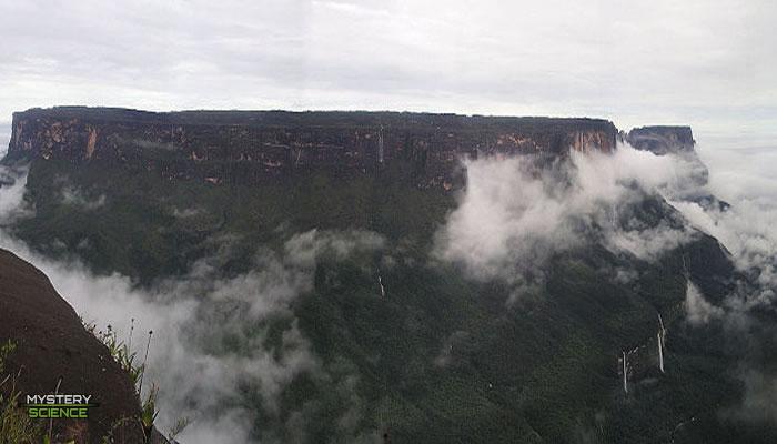 Monte Roraima pudo construirse artificialmente