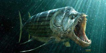 Estudian el fósil de un gigantesco pez carnívoro de 70 millones de años