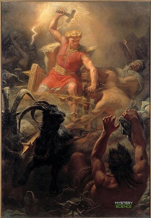 Batalla de Thor contra los Gigantes
