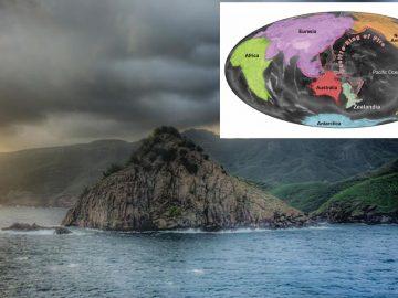 Continente perdido 'Zealandia' es revelado en nuevos mapas