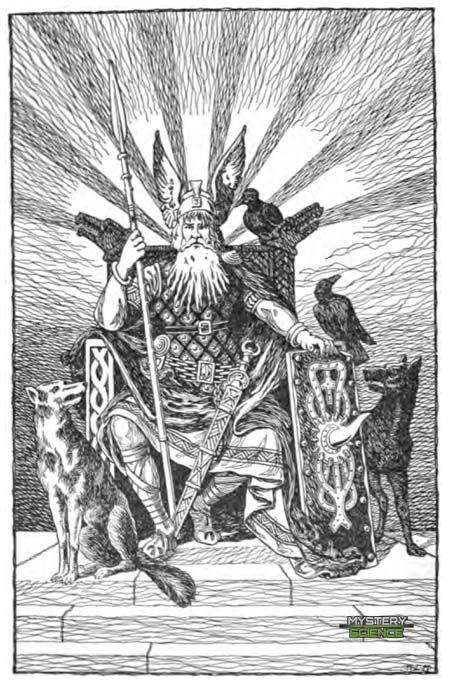 Odín en Historias de Asgard: relatos de la mitología nórdica