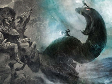 5 extrañas criaturas nórdicas presentes en la mitología: lobos gigantes, «serpientes cósmicas» y más
