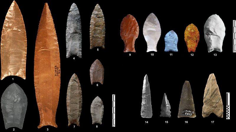 Flechas nativos americanos