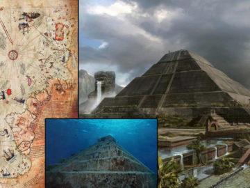 Evidencias de civilizaciones antediluvianas: estructuras submarinas en el Atlántico, mapas y textos antiguos