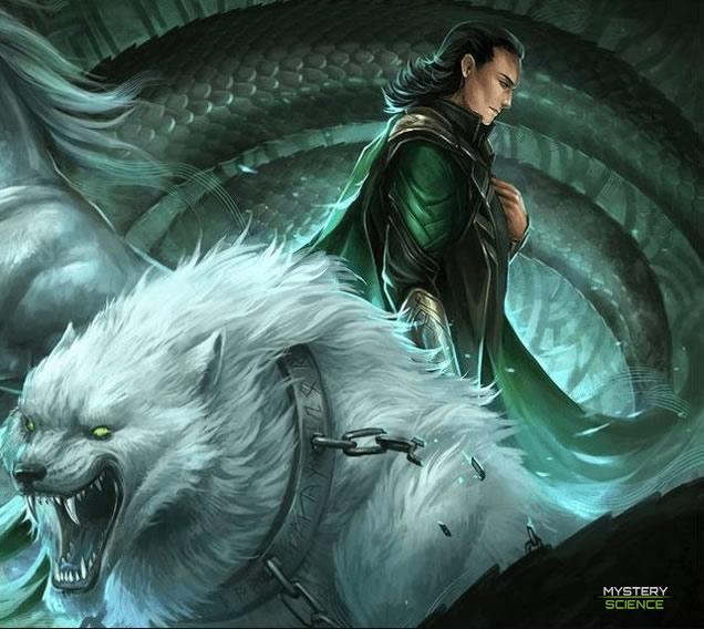 Hijo de Loki Fenrir