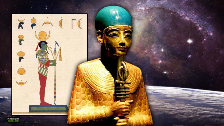 Ptah, el creador del universo y los dioses egipcios