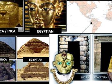 Sorprendentes similitudes ¿o conexiones? entre las culturas Inca y Egipcia