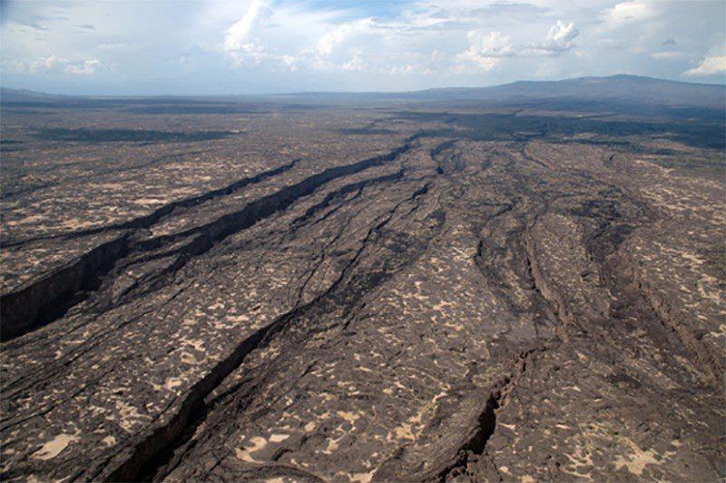 Una grieta de 35 millas de largo se abrió en el desierto de Etiopía en 2005