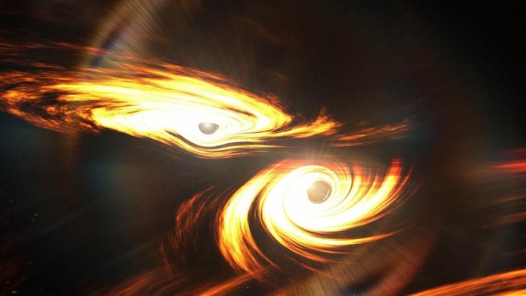 Detectan la fusión de agujeros negros más grande descubierta hasta la fecha