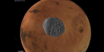 Descubren que algo extraño sucede en Marte durante los eclipses solares