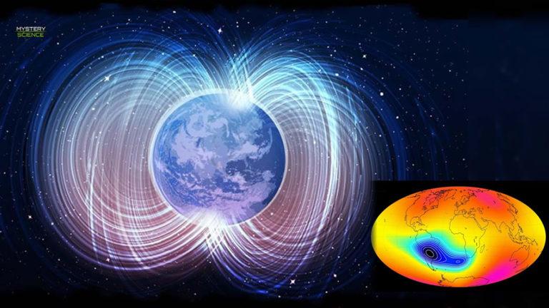 Misteriosa anomalía agrieta el escudo magnético de la Tierra y podría partirse en dos