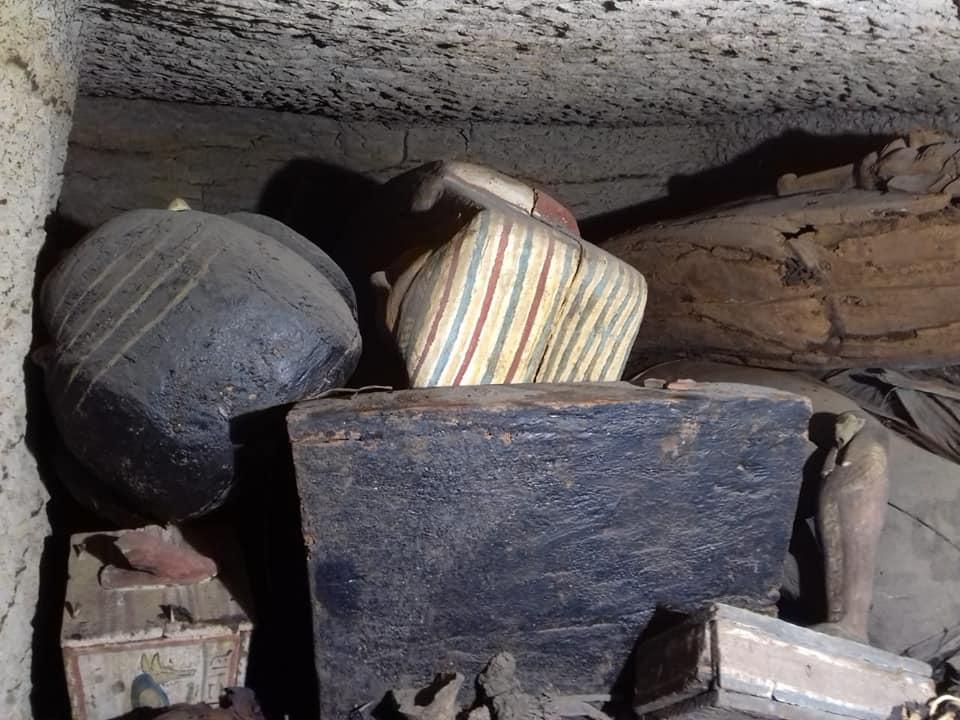 Encuentran 14 ataúdes que han estado sellados durante 2.500 años