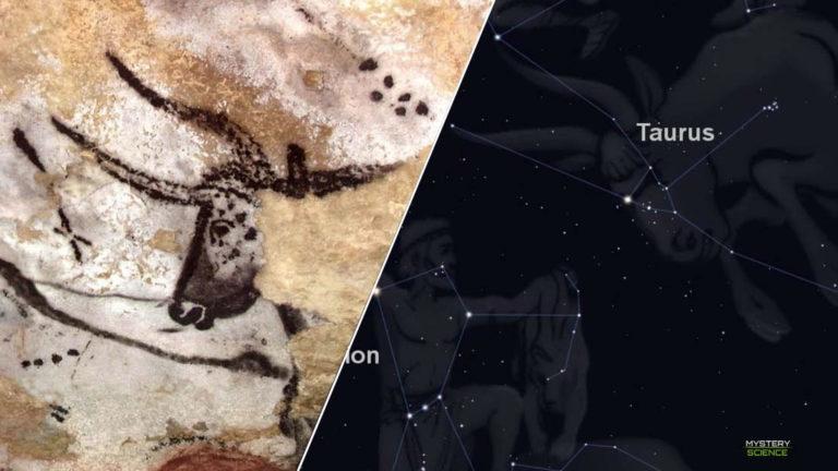 Las pinturas rupestres en esta cueva reflejan grupos de estrellas dibujadas hace 17 mil años