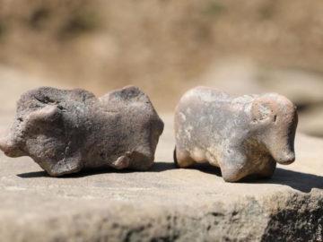 Encuentran juguetes que habrían usado niños de la prehistoria