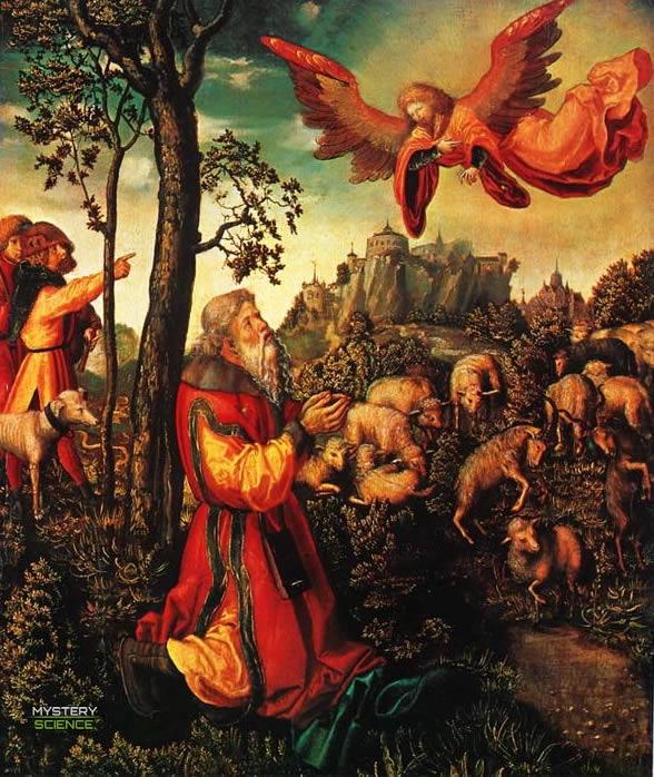 Aparición del ángel a Joaquín