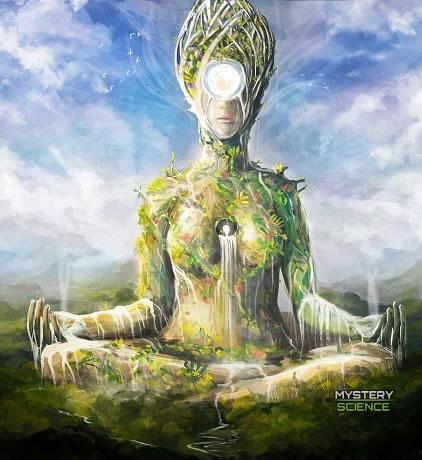 Gaia diosa creadora Tierra