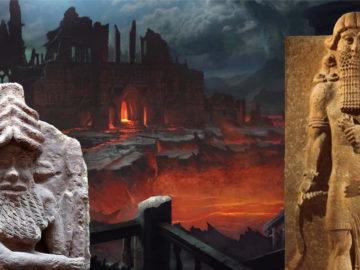 Gilgamesh, Enkidú y su visita al inframundo