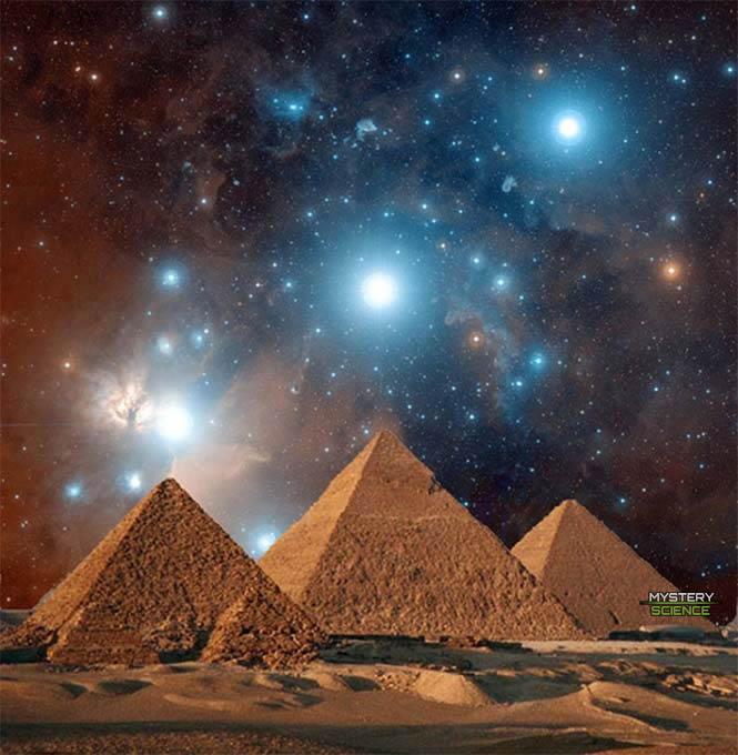 Alineación estelar de las pirámides de Egipto con Orión