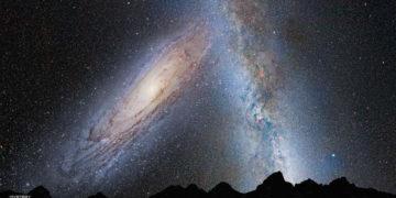 La Vía Láctea y la galaxia Andrómeda ya están fusionándose