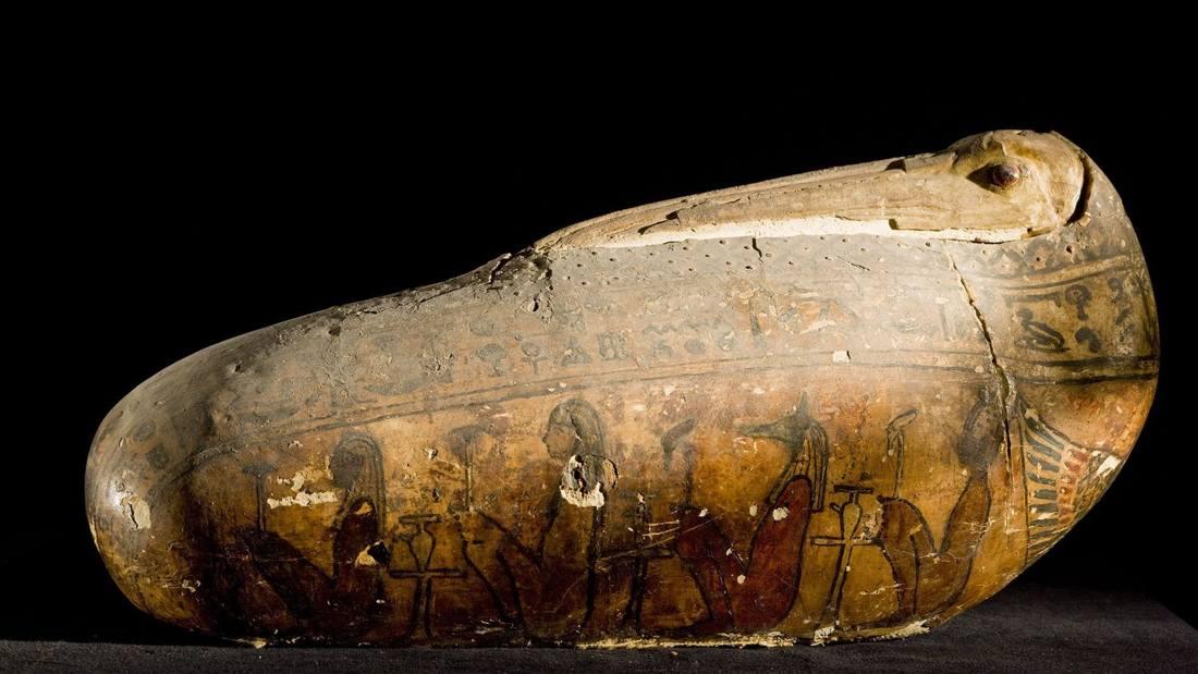 Aves momificadas del antiguo Egipto