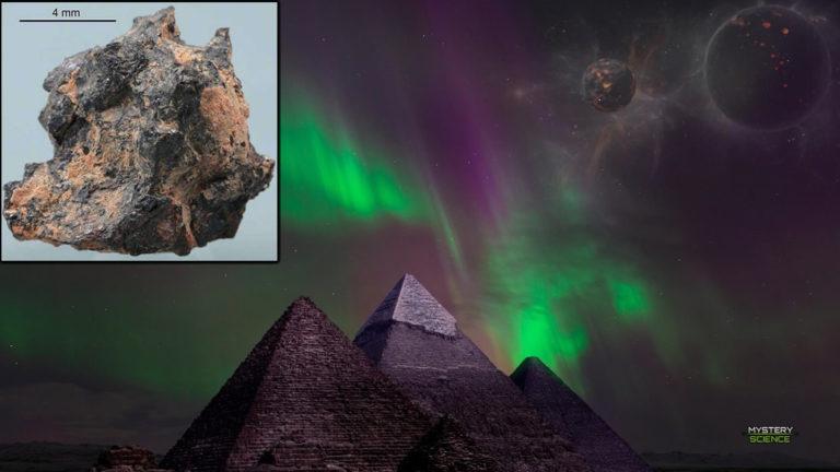 La piedra egipcia que posee elementos extraterrestres y su origen es desconocido