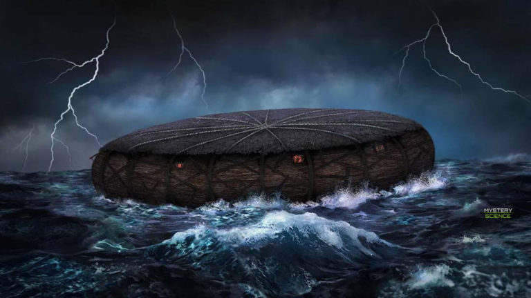 Según esta tablilla de Babilonia el «Arca de Noé» pudo tener forma circular