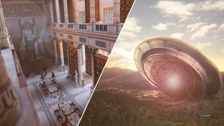 ¿Tenía la Biblioteca de Alejandría información sobre extraterrestres?