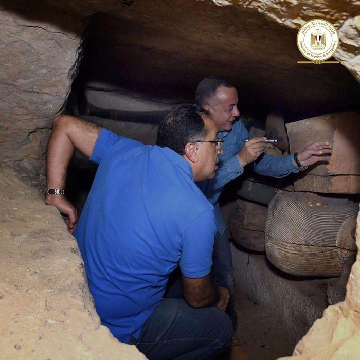 Encuentran 80 sarcofagos en Egipto