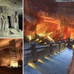 Misteriosas cuevas artificiales construidas con alta tecnología hace más de 2000 años