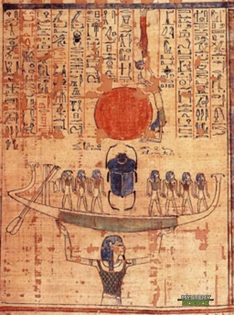 Nun dios egipcio aguas