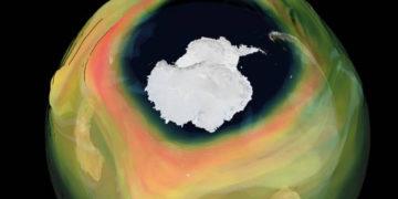 Agujero den la capa de ozono sobre la Antártida durante el 2020 es el más grande y profundo en años