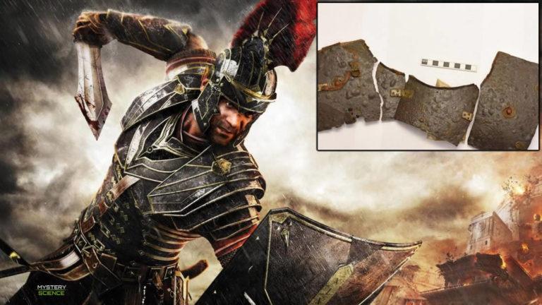 Hallan la armadura de un legionario romano que data de la época del nacimiento de Cristo
