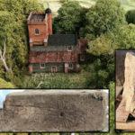 Descubren «marcas de bruja» en las ruinas de una iglesia medieval