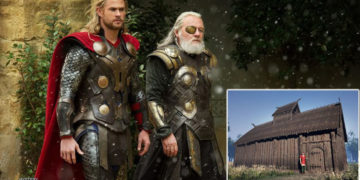 Descubren un templo de 1.200 años dedicado a Thor y Odin