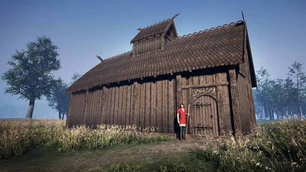 Casa de los dioses vikingos