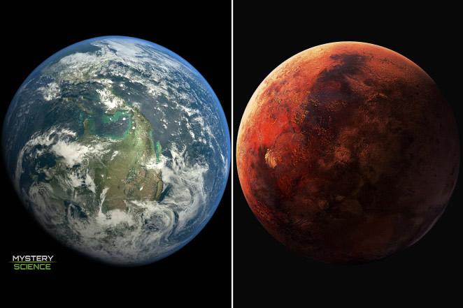 Tierra y Marte estarán más cercanos