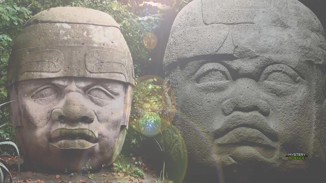 Olmecas y las colosales cabezas de piedra