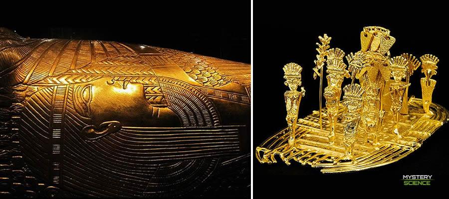 oro de los dioses