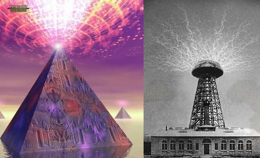 Torre Tesla y Pirámide