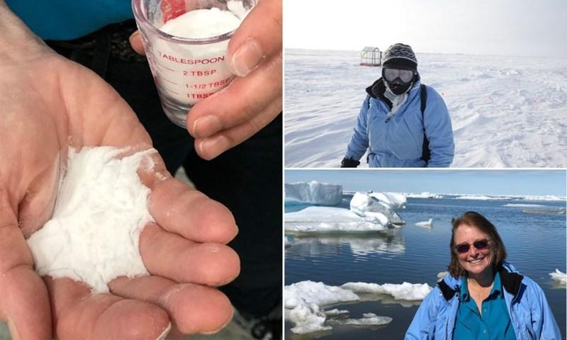 plan para salvar el Ártico con vidrio