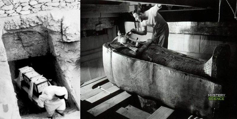 En noviembre de 1922, Howard Carter se hizo mundialmente famoso después de descubrir la tumba intacta de Tutankamón