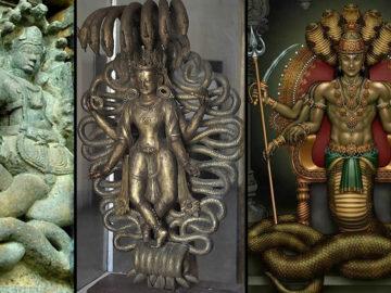 Los Nagas: dioses reptiles mitológicos