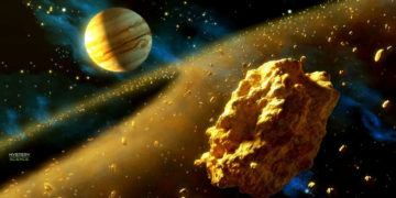 Algo está llenando de oro el universo, pero su origen es desconocido